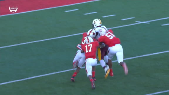 Ward continues to reek havoc on the Ball State defense