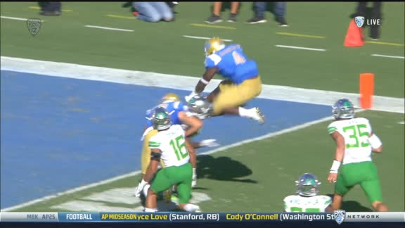 UCLA RB scores with wild hurdle