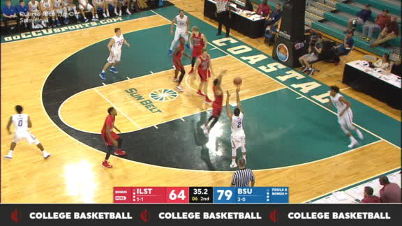 Williams' 3 extends Boise State lead