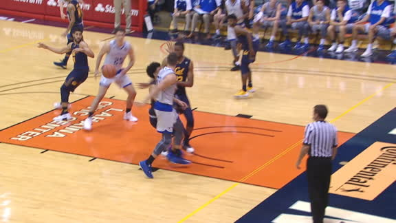 Chaminade's Koelliker slick behind-the-back pass leads to 2