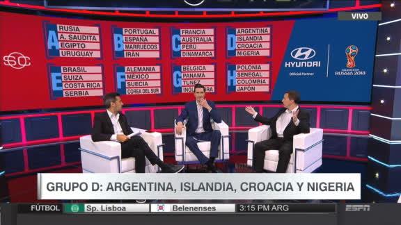 Así será la primera ronda del Mundial
