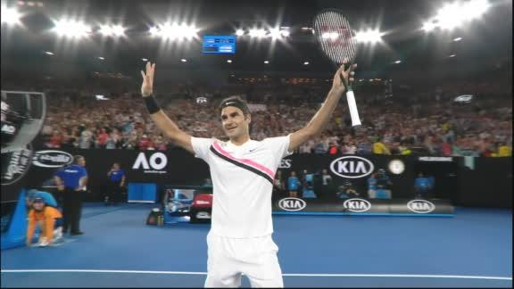 Federer, el último pasajero en octavos