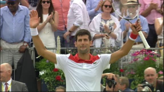 Djokovic, el otro finalista en Queen's