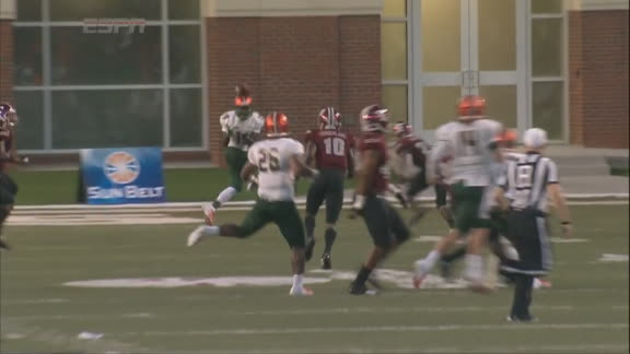 FAMU QB completes 24-yard pass, sets up rush TD