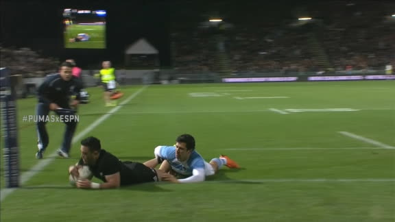 Nueva Zelanda respondió a través de Milner-Skudder