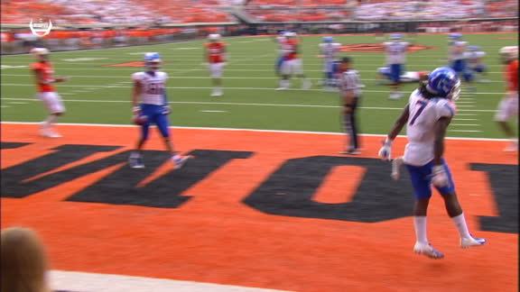 Blakley snags a big 4th-down TD catch for Boise State