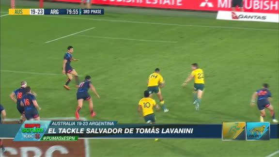 La importancia del tackle salvador de Lavanini