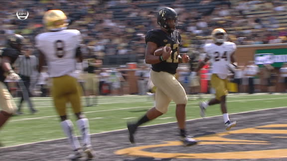 Newman runs in TD for Wake Forest