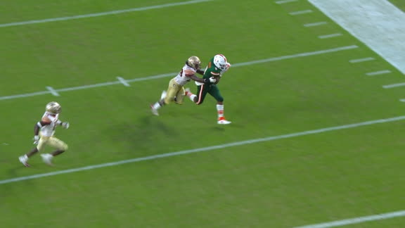 Perry's 4th TD pass puts Miami ahead