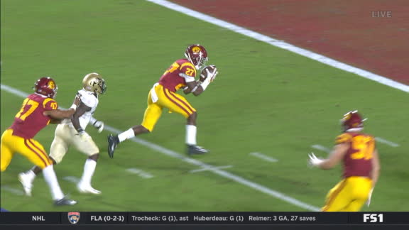 USC takes INT to the house