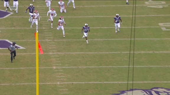 TCU's Turpin returns kick 99 yards to the house