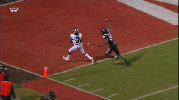 Newman finds Dortch for Wake Forest TD