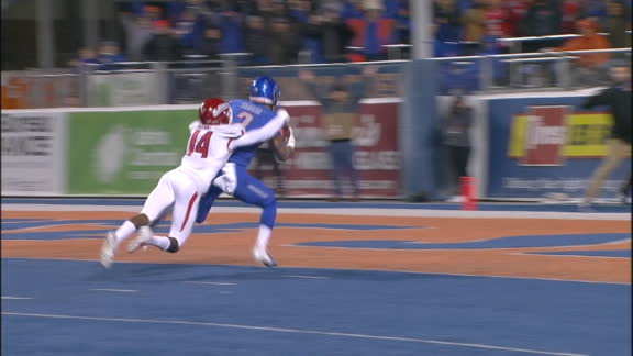 Rypien connects with Shakir for 49-yard TD