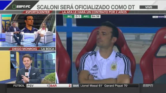 Scaloni será oficializado como DT de Argentina
