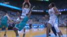 Johnson goes coast-to-coast for 3-point play