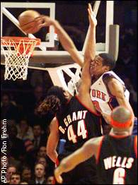 Marcus Camby Knicks