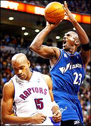 Vince Carter and Michael Jordan