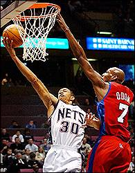 Los Angeles Clippers vs. New Jersey Nets - Recap - January 10, 2002