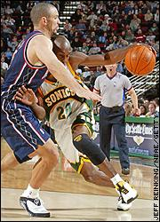 Jason Kidd and Gary Payton