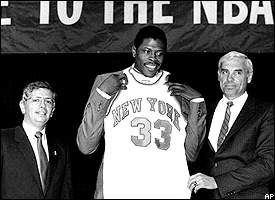 David Stern, Patrick Ewing and Dave DeBusschere