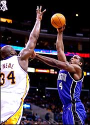 Shaquille O'Neal and Chris Webber