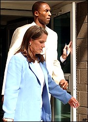 Kobe Bryant and Pamela Mackey