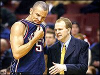 Jason Kidd and Lawrence Frank