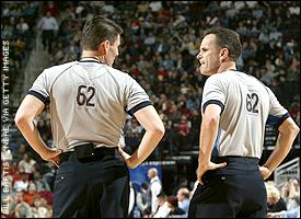 Nba referees assignments