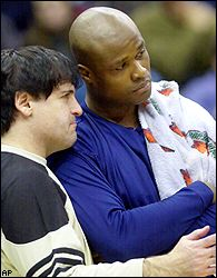 Mark Cuban and Antoine Walker