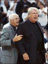 Del Harris and Don Nelson