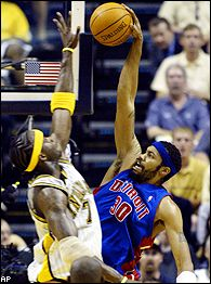 Rasheed Wallace and Jermaine O'Neal