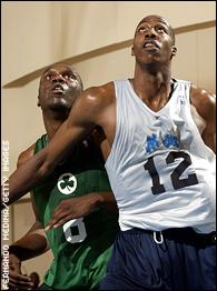 Al Jefferson and Dwight Howard