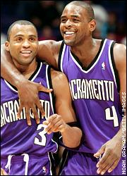 Cuttino Mobley and Chris Webber