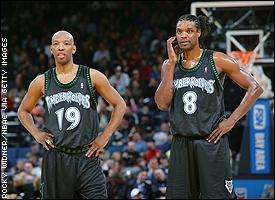 Sam Cassell and Latrell Sprewell
