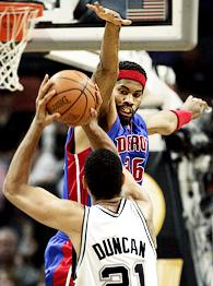Tim Duncan, Rasheed Wallace