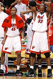 Rasual Butler, Alonzo Mourning