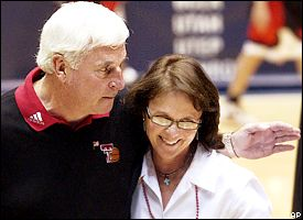 Bob Knight and Karen Knight