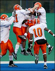 Bowling Green celebration