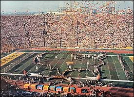 Super Bowl I pre-game show