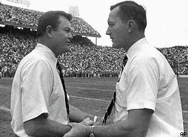 Darrell Royal and Chuck Fairbanks
