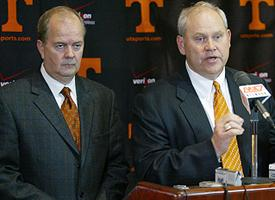 David Cutcliffe and Phil Fulmer