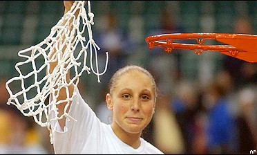 Diana Taurasi sparked UConn to its fourth title.