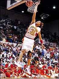 Candace Parker became the first female to win the slam dunk contest at the  McDonald s High School All-America game. 5eaf6052b1