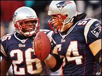 Tedy Bruschi (54) is slated to return for the Pats, as is Eugene Wilson.