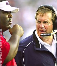 Belichick and Crennel