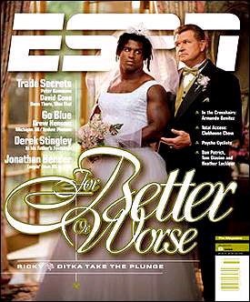 Ricky Williams/Mag cover image