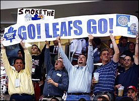 Maple Leafs fans