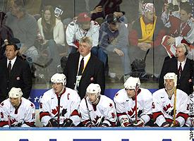 Team Canada coaches