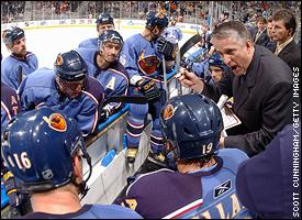 Bob Hartley and the Thrashers