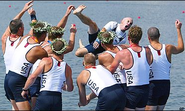 U.S. men's elite eight crew